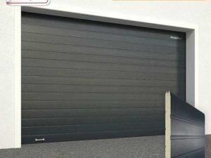 Ворота гаражные секционные Doorhan (7016 антрацит)