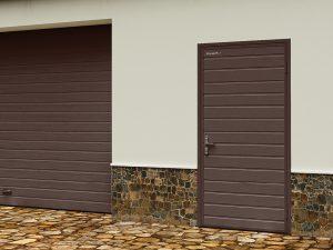 Гаражные двери модели УЛЬТРА